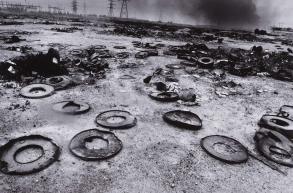 Scattered Oil Barrels Lie in Pieces, z cyklu Vanishing