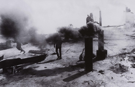 Tar Factory, Romania, from the Broken Dream series,
